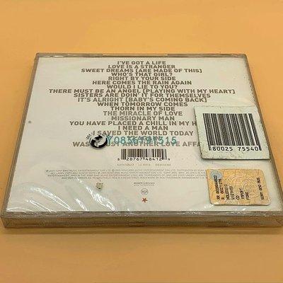 爆款CD.唱片~英 全新未拆 韻律操樂隊 Eurythmics Ultimate Collection CD