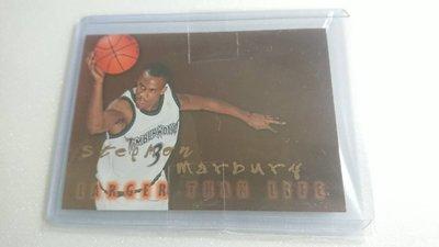 1996-97SKYBOX傳奇Stephon Marbury LARGER THAN LIFE難拆特卡一張~600元起標
