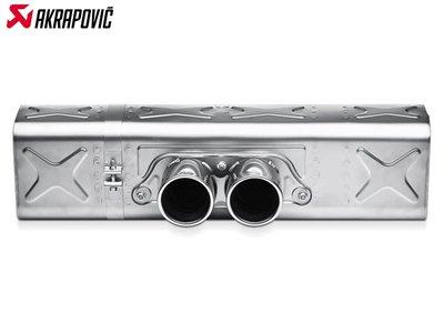 【樂駒】Akrapovic PORSCHE 911 GT3 RS 991 鈦合金 尾段 排氣管 輕量化 改裝