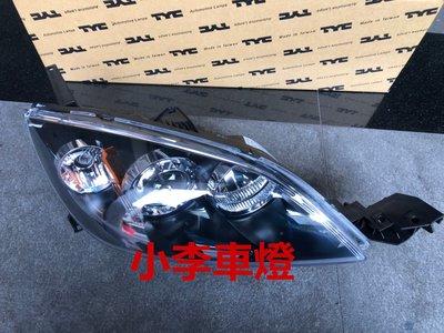 ~李A車燈~全新品 外銷精品件  馬自達 MAZDA3 07 08 年 5門車 原廠型魚眼大燈 一顆2800元