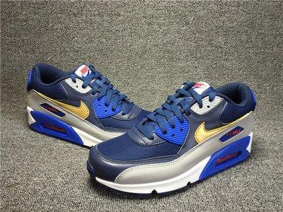 AIR MAX 90 藍色 網布 氣墊 經典 休閒運動鞋 537384 409 男