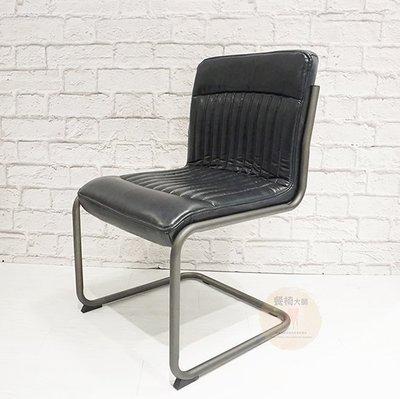 餐椅 椅子【萊頓】工業風  鐵腳椅 工作椅 洽談椅 書桌椅 咖啡椅 北歐餐椅 餐桌椅 皮餐椅【量大可議】=餐椅大師