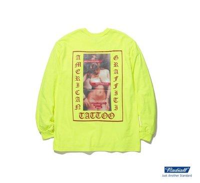 GOODFORIT / 日本Radiall USC CREW NECK刺青主題合作款長袖上衣/兩色