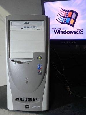 【窮人電腦】跑Windows 98系統!早期捷元原廠Win98工業主機出清!可自取!外縣可寄!