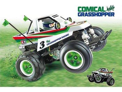 大千遙控模型 TAMIYA 58662 Q版蚱蜢 1/10 COMICAL GRASSHOPPER WR - 02CB