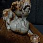 和闐 玉雕◎ 仙人騎神獸  非壽山石