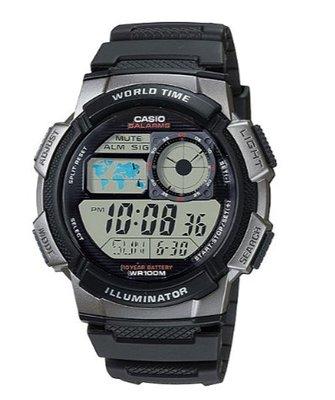 【萬錶行】CASIO 世界城市野外風格概念錶  AE-1000W-1B 台南市