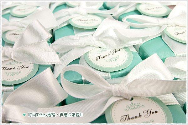 *幸福朵朵*╯【歐美同步流行-Tiffany經典藍玫瑰皂禮盒】-送客伴手禮/二次進場/婚禮小物