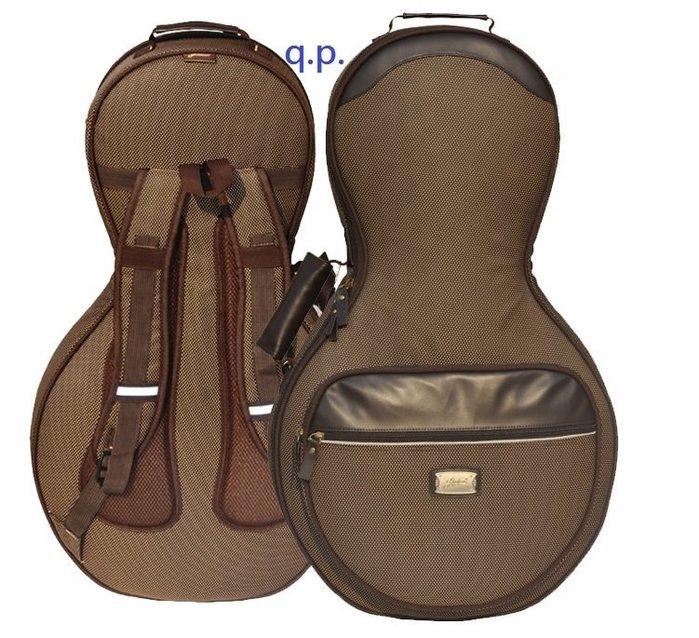 高級 加厚防潑水月琴包 可提可背 月琴手提袋子 彈撥樂器 民族樂器 耐用減壓防震舒適背包 月琴琴包 月琴袋子 樂器配件包