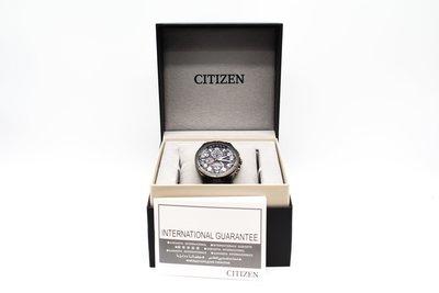 【青蘋果3C】CITIZEN星辰 AT8166-59E 光動能 41.5mm 鈦金屬 電波 二手精品手錶#29290