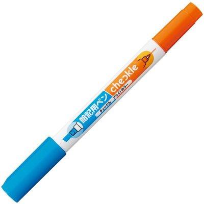 【東京速購】日本原裝 KOKUYO 暗記用 筆記 背單字 答案 畫重點 螢光筆 - 藍色單隻
