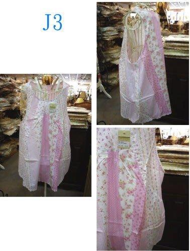 美生活館--- 全新 鄉村風格--純綿玫瑰花布 J 款圍裙 --出清特賣 588 元
