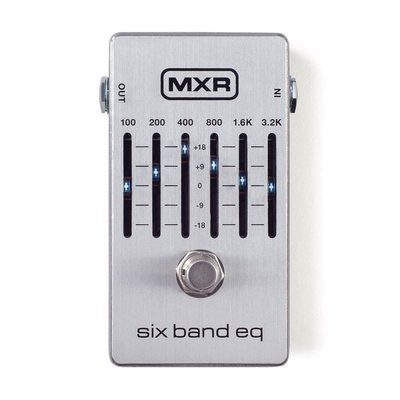 ☆ 唐尼樂器︵☆ Dunlop MXR M-109S/ M109S 6段 EQ 等化器電吉他單顆效果器