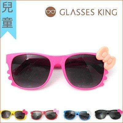 眼鏡王☆ 現貨 台灣製小孩兒童造型框韓國人氣Hello Kitty蝴蝶結圓點紅色墨鏡太陽眼鏡K3