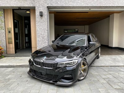 【樂駒】BMW G20 G21 黑鼻頭 原廠 高亮黑 網狀 水箱罩 改裝 套件 空力 外觀