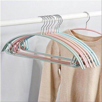 衣架 【RPE001】多功能PVC浸膠毛衣衣架_防滑無痕設計_大衣 毛衣 羽絨外套不變形 收納女王