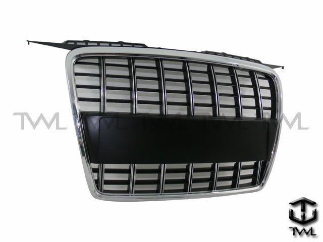 《※台灣之光※》全新AUDI奧迪 A3 05 06 07 08年改S3 S8樣式電鍍框黑格水箱罩