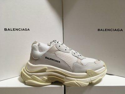 現貨 Balenciaga Triple S 白色 女生型號 EU 40