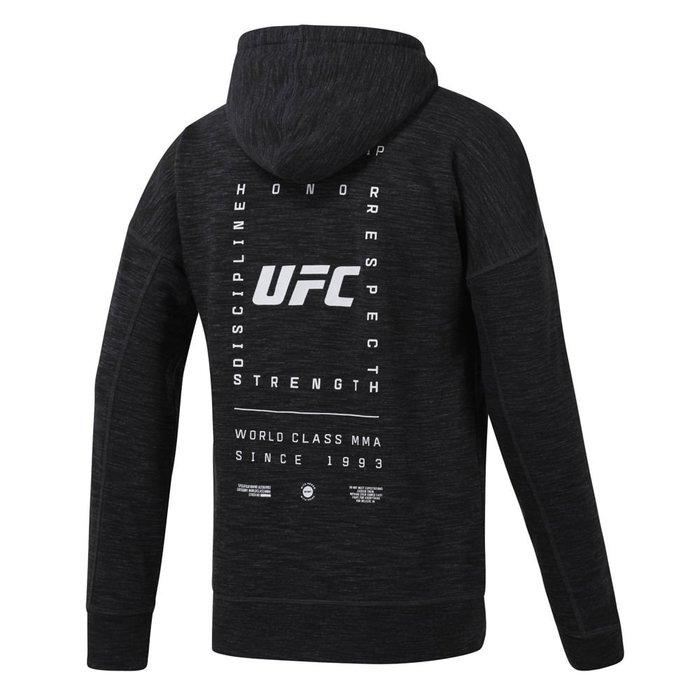 限時特價南◇2020 12月 Reebok UFC 連帽外套 男 EC1248 黑色 連帽外套 訓練 休閒