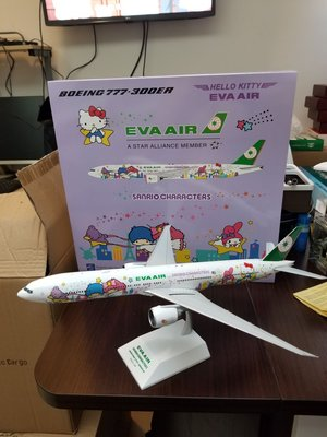 1:200 EVA AIR B777-300ER 金屬模型飛机