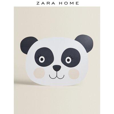 桌墊Zara Home 熊貓設計可愛創意吃飯餐墊隔熱墊桌墊 43646023999