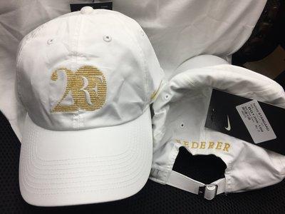 全新2018 Nike RF Hat Cap費德勒Roger Federer 第20個大滿貫限量紀念網球帽3390元