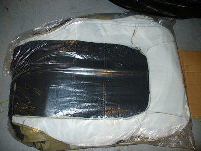 全新 三菱 廂貨車 FREECA SPACE GEAR 前面雙座皮椅套~黑.米.灰3色~也可買整車份