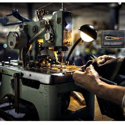 西方不敗Raleigh Denim Workshop 穩居最屌手工牛仔褲關鍵:古董機台頂配 、職人分工技術、機台保養維護
