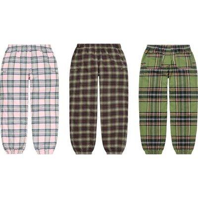 【紐約范特西】預購 Supreme FW20 Tartan Flannel Skate Pant 格紋褲