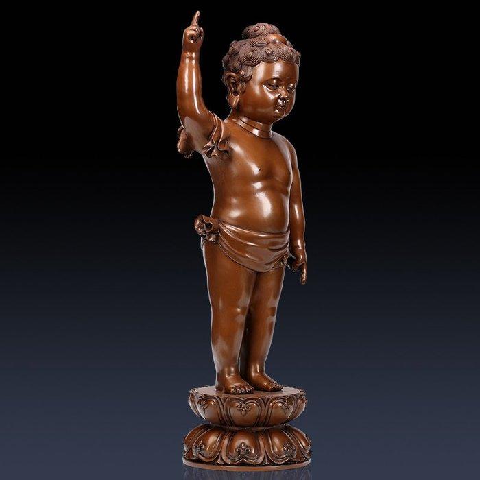優品佛系☼紫銅太子佛 家居客廳供奉擺設電視柜裝飾擺件全銅工藝品