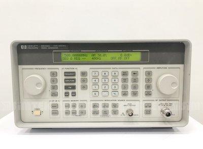 HP 8648C Synthesized Signal Generator 信號產生器9 kHz ~3200 MHz