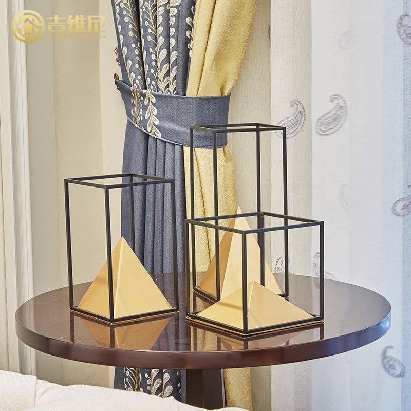〖洋碼頭〗美式現代創意家居飾品擺件樣板房歐式客廳合金裝飾品 jwn482
