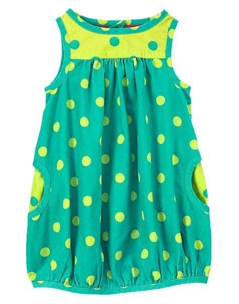 美國童裝GYMBOREE正品Polka Dot Corduroy Jumper點點背心裙連身洋裝6~12m..售100元