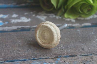 ZAKKA糖果臘腸鄉村雜貨坊          五金配件類...袖釦造型鑄鐵手把/復古舊化質感把手(抽屜把手/櫥櫃手把)