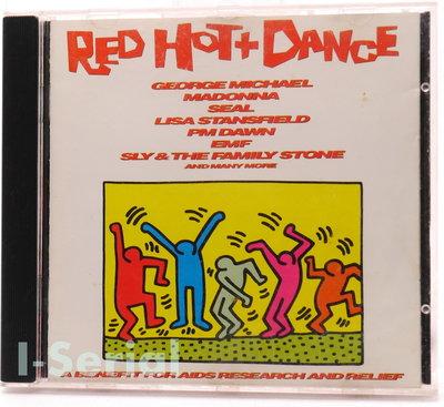 正版西洋精選CD/ RED HOT+DANCE / 喬治麥可, 瑪丹娜, 席爾, 麗莎史坦菲爾....
