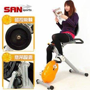 健身車【推薦+】SAN SPORTS 國王寶座 飛輪式MAX磁控健身車C121-346室內腳踏車.有氧美腿機運動健身器材