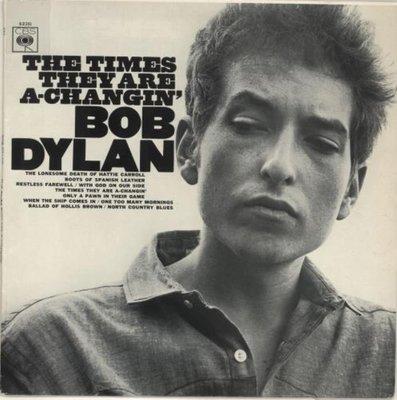 【全新黑膠】Bob Dylan - The Times They Are A-Changin