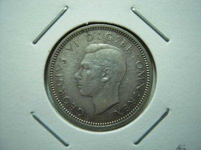 英國.6 Pence.1942年.鎳幣