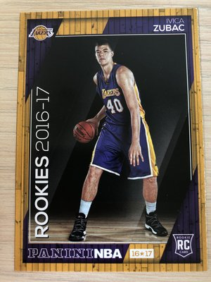 Ivica Zubac #29 2016-17 Panini NBA Hoops RC新人卡 Rookie