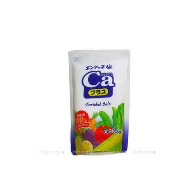 ※※ GL 日本調味品※※˙Enriched 海鹽 / 加鈣無碘/