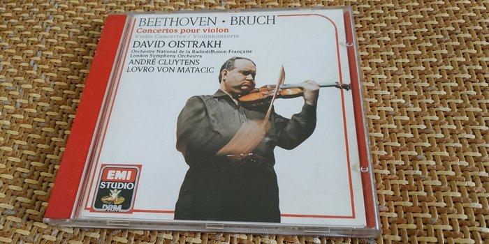 好音悅 David Oistrakh Cluytens 貝多芬 Beethoven 布魯赫 小提琴協奏曲 EMI 付側標