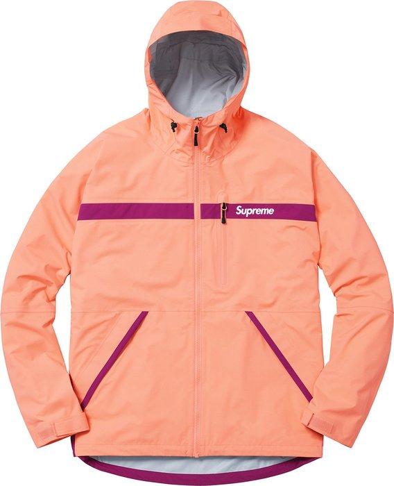 【超搶手】全新正品 2017 SS Supreme Taped Seam Jacket 連帽外套 風衣 防風 機能外套