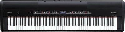 *雅典樂器世界*極品 ROLAND FP80 FP-80 黑色 專業級88鍵 頂級電鋼琴--展示出清