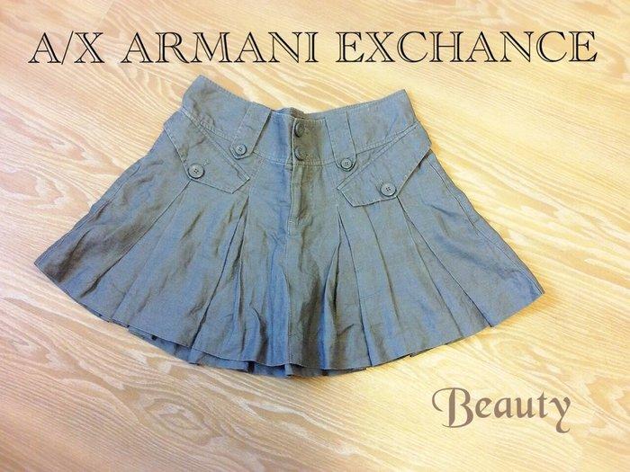 *Beauty*A/X Armani Exchange 灰色寬摺裙 GR