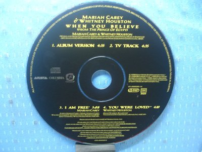 [無殼光碟]FI Mariah Carey When You Believe [Singles 4 Remixes]