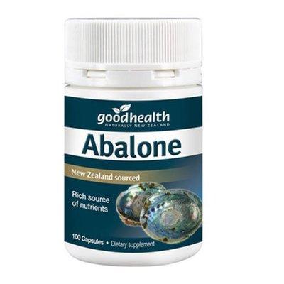 紐西蘭 好健康 鮑魚精 100顆 Good Health Abalone New Zealand 正品