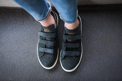 20 現貨 adidas stan smith Trainer魔鬼氈 皮革 S32270 黑色 25.5cm US8.5