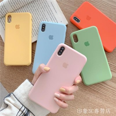 適用於 iPhoneSE2液態矽膠殼iPhoneX XR XS MAX手機殼 iPhone7 iPhone8 Plus【快速出貨】
