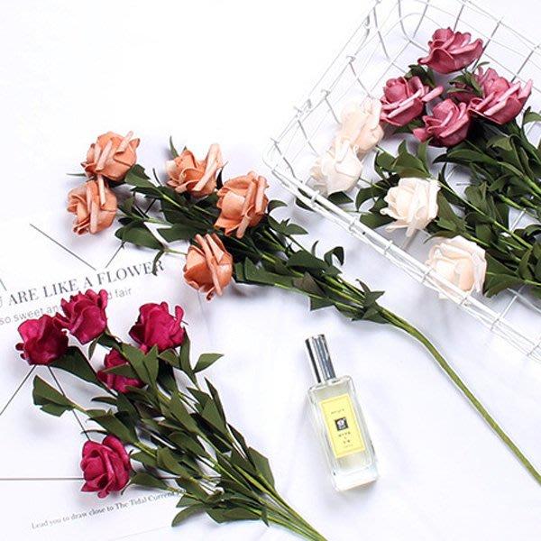 韓風仿真泡沫玫瑰花束 拍照背景 拍攝道具【JI2182】《Jami Honey》