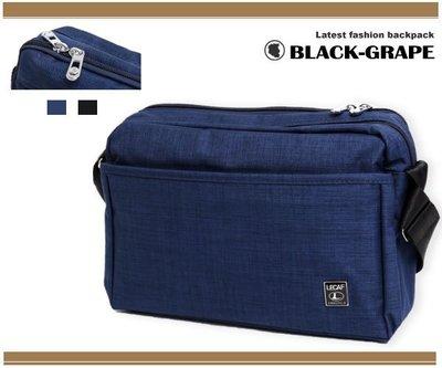 韓國刷色普普風帆布側背包/斜肩包【C6009】黑葡萄包包